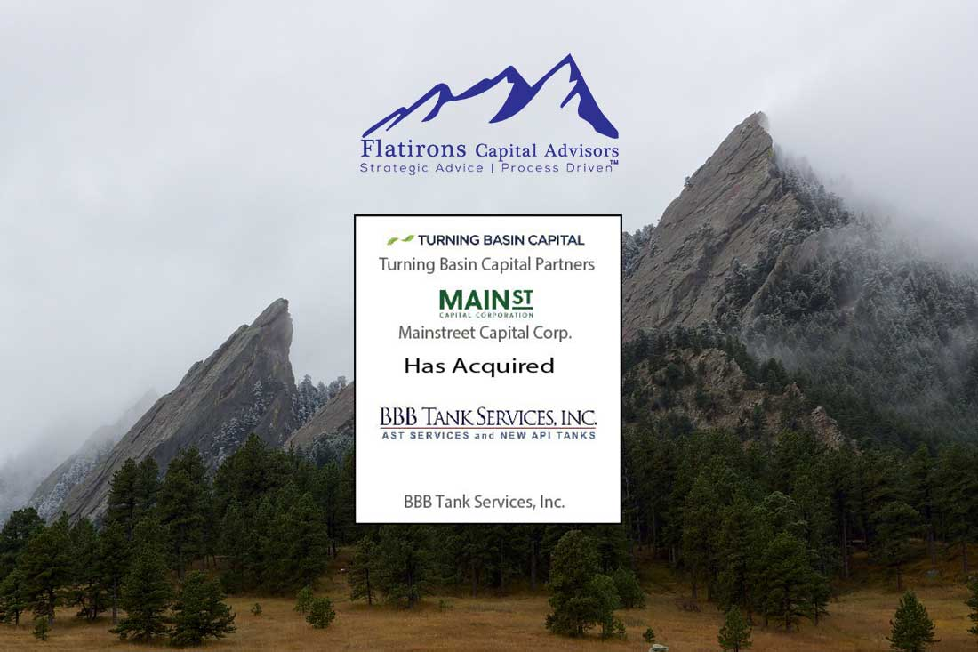 Main St acquires BBB Tank Services
